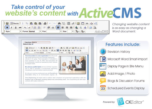 Take control of your content with ActiveCMS